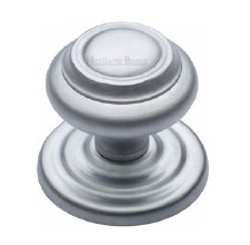 Heritage V905 Centre Door Knob Satin Chrome