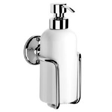 Samuel Heath N47 Ceramic Soap Dispenser Polished Chrome