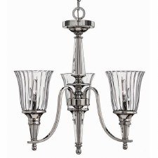 Hinkley Chandon 3 Arm Chandelier