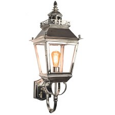 Chateau Outdoor Wall Lantern Nickel