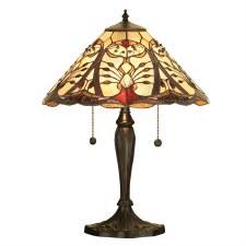 Interiors 1900 Chatelet Medium Tiffany Table Lamp