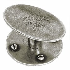 Finesse Chatton Cabinet or Cupboard Knob PCK034 Solid Pewter