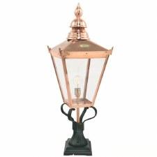 Elstead Chelsea Grande Pedestal Lantern Light