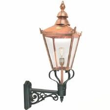 Elstead Chelsea Grande Large Outdoor Wall Light Lantern with Bracket