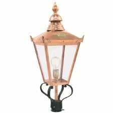 Elstead Chelsea G Frog Lamp Post Head