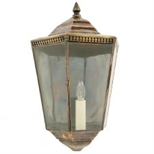 Chelsea Large Passage Flush Lantern Light Antique