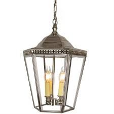 Chelsea Large Pendant Lantern Nickel