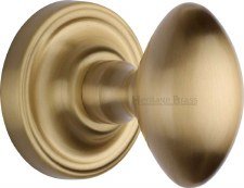 Heritage Chelsea Mortice Knobs CHE7373 Satin Brass