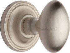 Heritage Chelsea Mortice Knobs CHE7373 Satin Nickel