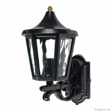 Cheltenham Cast Outdoor Wall Light Lantern Black