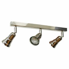 Cherry 3 Spotlights on a Bar Polished Nickel