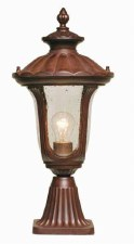 Elstead Chicago Pedestal Lantern Light Small