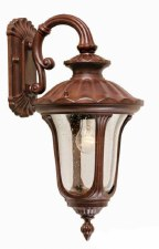 Elstead Chicago Outdoor Wall Light Lantern Small