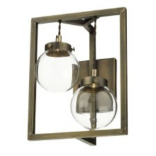 David Hunt CHI0975 Chiswick LED Double Wall Light