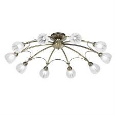 Franklite Chloris Ceiling Light 10 Light Bronze
