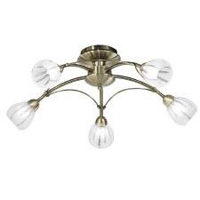Franklite Chloris Ceiling Light 5 Light Bronze