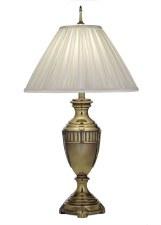 Stiffel Detroit Cincinnati Table Lamp Burnished Brass