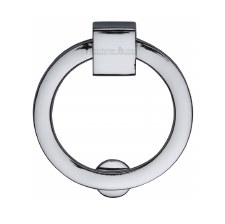 Heritage Circular Cabinet Drop Handle C6321 Polished Chrome