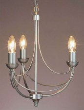 Cirrus 3 Light Chandelier Natural