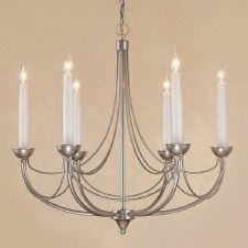 Cirrus 6 Light Chandelier Natural