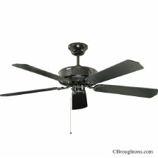"Fantasia Classic 52"" Ceiling Fan Black"