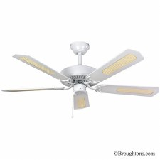 "Fantasia Classic 52"" Ceiling Fan White"