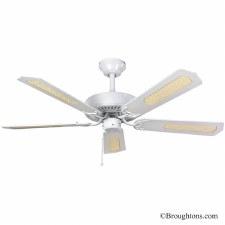 "Fantasia Classic 52"" Ceiling Fan White"