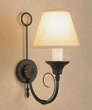 Classica Single Wall Light Matt Black