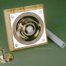 Door Bell Pull with Patress Antique Nickel