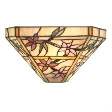Interiors 1900 Clematis Tiffany Wall Light