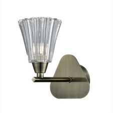 Clementine Single Wall Light Bronze