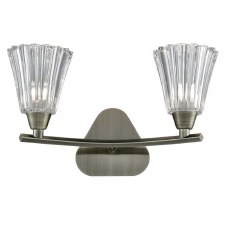 Clementine Double Wall Light Bronze