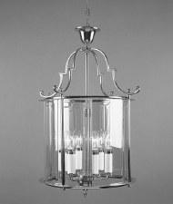 Colchester 6 Light Round Lantern Polished Chrome
