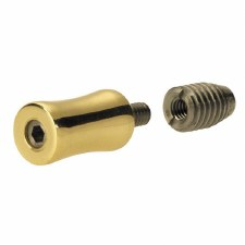 Croft 2832 Sash Stop Polished Brass Unlacquered