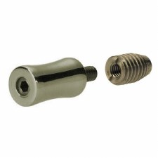 Croft 2832 Sash Stop Polished Nickel