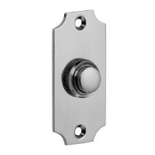 Croft Door Bell Push 1917 Polished Chrome