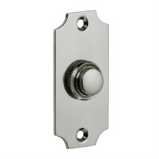 Croft Door Bell Push 1917 Polished Nickel