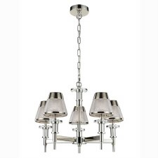 Concept Chandelier 5 Light Chrome