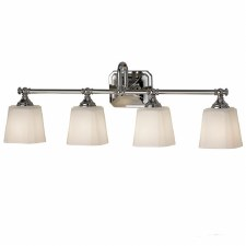 Feiss Concord Bathroom 4 Light Above Mirror Light Polished Chrome