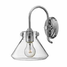 Hinkley Congress Glass Wall Light Chrome