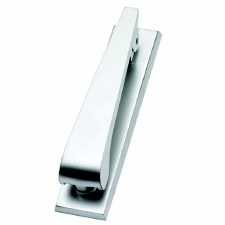 Contemporary Door Knocker Satin Chrome