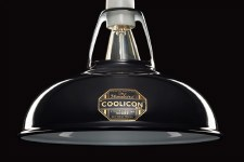 Coolicon Original 1933 Design Light Shade 23cm Black