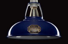 Coolicon Original 1933 Design Light Shade 23cm Blue
