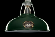Coolicon Large 1933 Design Light Shade 40cm Green