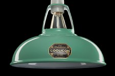 Coolicon Original 1933 Design Light Shade 23cm Teal