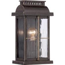 Quoizel Cortland Outdoor Flush Ceiling Light Imperial Bronze