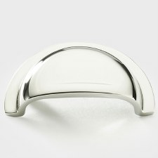 Armac Cotswold Drawer Pull Handle 56mm Polished Nickel