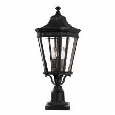 Feiss Cotswold Lane Large Pedestal Light Black