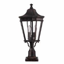 Feiss Cotswold Lane Medium Pedestal Light Black