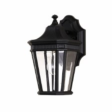 Feiss Cotswold Lane Small Wall Lantern Light Black